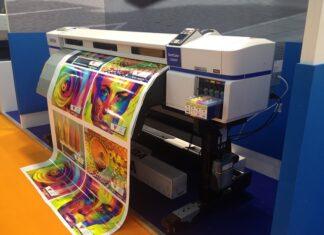 druk w drukarni